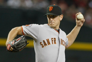 Eric Surkamp started six games for the Giants in 2011