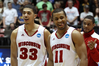 Jordan Taylor and his Wisconsin teammates are a strong bet to upset Syracuse in Boston on Thursday.