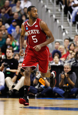 C.J. Leslie looks to lead NC State past Kansas.