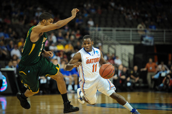 Erving Walker and the Florida Gators will look to shoot past Marquette in the Sweet 16.