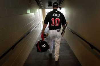 Age and injury could be finally catching up with Chipper Jones.