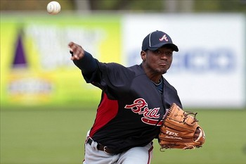 Julio Teheran has allowed nine homeruns this spring.