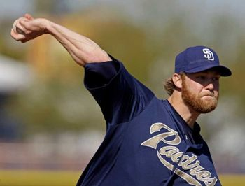 Andrew Cashner in spring training. Photo: Charlie Riedel / AP
