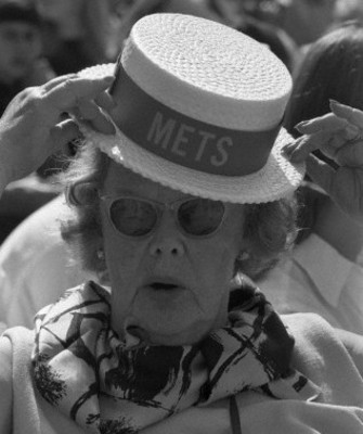 Joan Whitney Payson, owner of and den mother to the Mets.