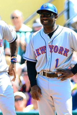 Mookie Wilson, a foundation of the Mets rebuilding project.