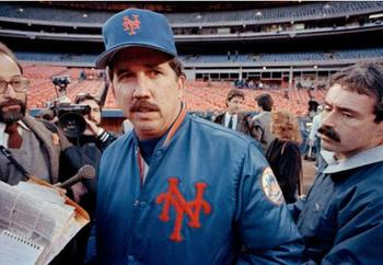A slow start to the '90 season doomed manager Davey Johnson.