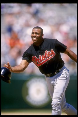 Bobby Bonilla was traded to the Orioles in 1995.