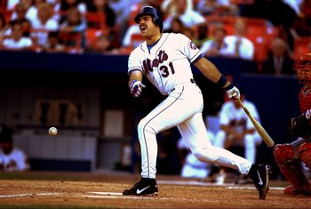 Mike Piazza was an instant hit with Mets fans.