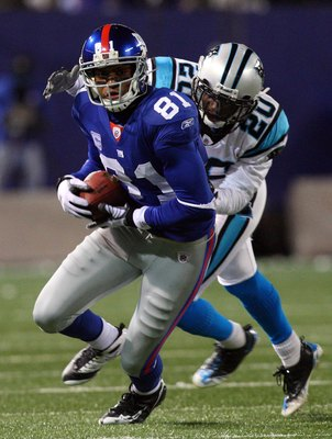 Toomer ended his career with nearly 9500 receiving yards.