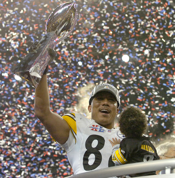 Call Hines Ward Mr. Super Bowl MVP.