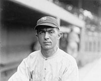 "Frank ""Home Run"" Baker played in an era where home runs were not so common."
