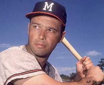 Eddie Mathews set a new standard for power from the third base position in the 1950's.