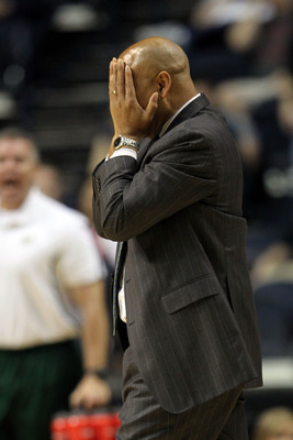 South Florida head coach Stan Heath could barely stand it.