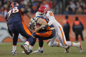 Wallace Gilberry's role on the Chiefs' defense shows that they have a need at the position.