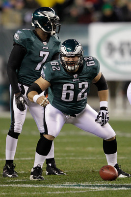 Jason Kelce played every snap of 2011 at center despite his being a 6th round rookie, but did he play well?