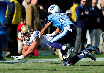 Cortland Finnegan's leaving the Titans leaves a sizable hole in the secondary.
