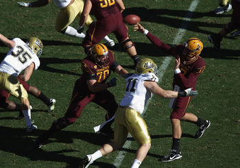 Brock was the first true freshman QB to start for ASU since Jake Plummer in 1993.