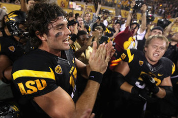 Osweiler is a natural leader, with a work ethic that earned him praise at ASU.  Getty