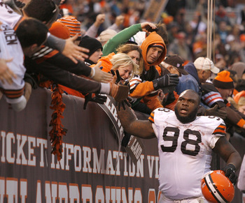 How many of these fans groaned when the Browns traded down for Phil Taylor in 2011?