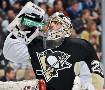 """Flower"" is blooming in net for the Penguins."