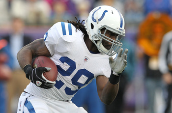 Addai's injury problems mean he comes with risk.