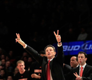 Pitino looks tanned, rested and ready to school his former player and assistant, Billy Donovan, for a seventh straight time.