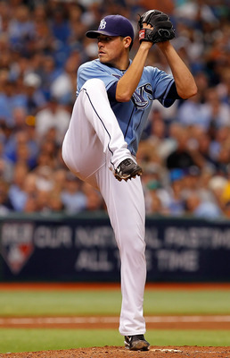 Matt Moore is poised to dominate in his first full big-league season and should immediately insert his name into Cy Young discussions.