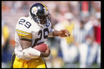Barry Foster- Pittsburgh Steelers