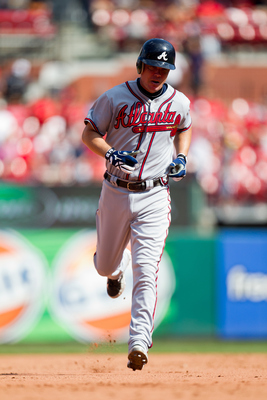 Chipper Jones helped the Braves come from trailing three games to one in the 1996 NLCS to win the series.
