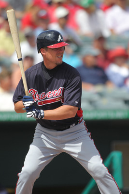 Chipper Jones had a big postseason in 1995, helping the Braves win the World Series.