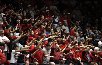 UNLV fans synchronize against Colorado.