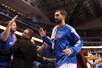 Peja wasn't good for much more than high-fives in last season's run with Dallas.