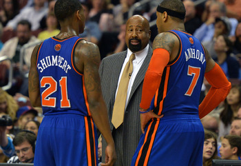Mike Woodson has done a pretty decent job in his interim role as Knicks head coach.