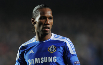 Chelsea's Didier Drogba would be happier staying in London than heading to China this summer.