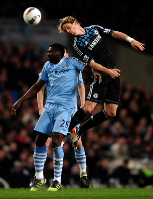 Fernando Torres played a respectable game in Chelsea's 2-1 loss at Manchester City last Wednesday.