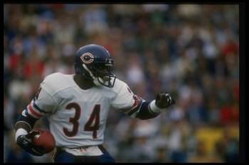 Walter Payton was a Chicago Bears legend.