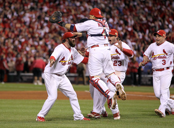 The Cardinals are the defending World Series champions.