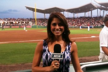 Jenny Dell photo via NESN
