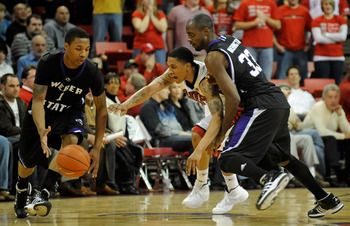 Lillard (left) is the highest scoring point guard available in the draft.