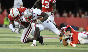 Bobby Rainey against Nebraska