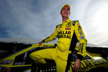 Joey Logano was far off the pace of his teammates on Sunday