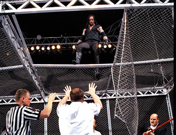 The Undertaker might be looking down at a broken Triple H come WrestleMania 28.