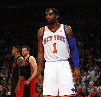 A bulging disk in Amar'e Stoudemire's lower back might cost him the remainder of the season.