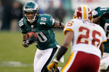 The Eagles signed DeSean Jackson to a long-term deal.
