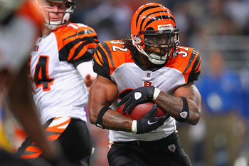 Despite having a few injuries in his past, Cedric Benson still has a few 1,00 yard seasons left in him.