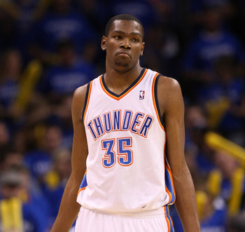 Big fish, small pond. No NBA Star exemplifies that more than Kevin Durant.