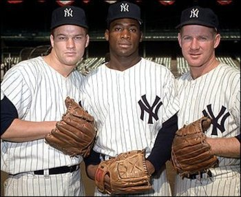 Jim Bouton, Al Downing, Whitey Ford via yesnetwork.com