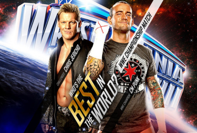 WWE: WrestleMania 28 Sketchbook, CM Punk vs. Chris Jericho