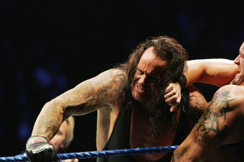 The two major title matches, unbelieveably, are lesser anticipated matches that both Rock/Cena and Taker/HHH.