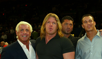 The closest faction the WWE ever had to the Four Horsemen.  Man, do we miss Batista!